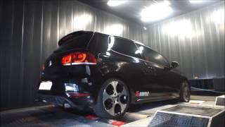Reprogrammation moteur Volkswagen Golf VI GTI Akrapovic ShifTech