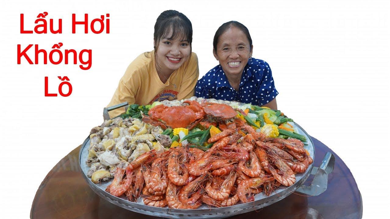 Bà Tân Vlog - Làm Nồi Lẩu Hơi Siêu To Khổng Lồ To Nhất Việt Nam