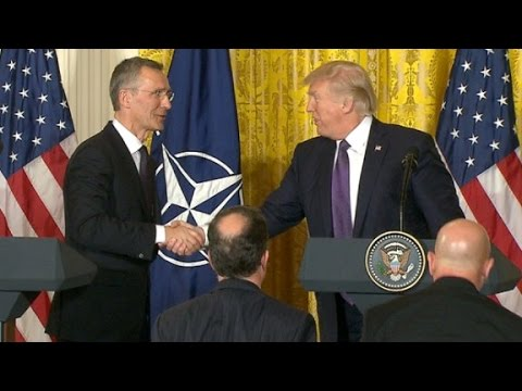 President Trump's entire remarks on NATO