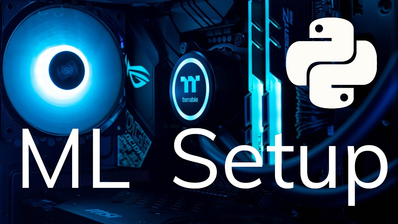 Python Environment Setup for ML