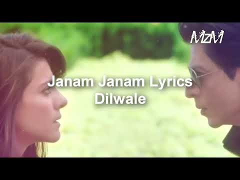 Janam Janam Lyrical With Russian(Русский) Subtitles