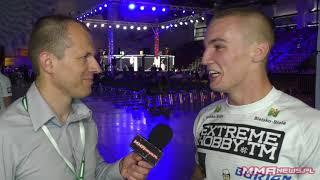 Filip Lamparski zdobył cenne zawodowe zwycięstwo przez bielską publicznością