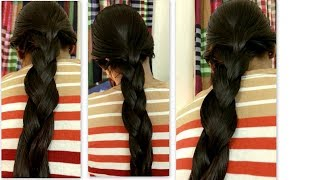 LONGHAIR THICK OILY HOT BRAID ON RUPANZEL