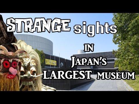 Strange sights in Japan's LARGEST museum l Expo '70 park