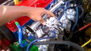 Proton Saga 4G15 four throttles