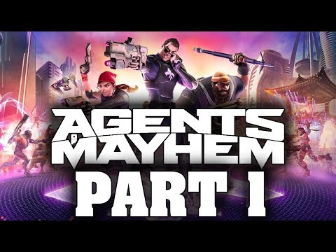 Agents Of Mayhem (FULL GAME) - Let's Play - Part 1 - 'Spin-Off' | DanQ8000