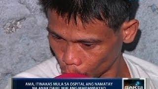 Saksi: Labi ng batang itinakas ng ama sa ospital sa Malabon dahil walang pambayad, inilibing na