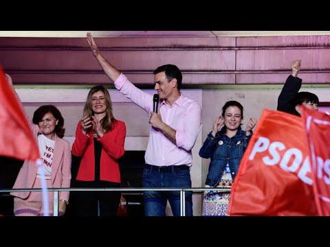 إسبانيا: الاشتراكيون يتصدرون الانتخابات التشريعية واليمين المتطرف ثالث قوة سياسية  - 12:00-2019 / 11 / 11
