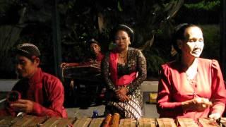 Gamelan music of Java, Indonesia