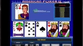 AMERICAN POKER 2 online  Dieses Novoline Spiel jetzt auch online Spielen   American Poker II