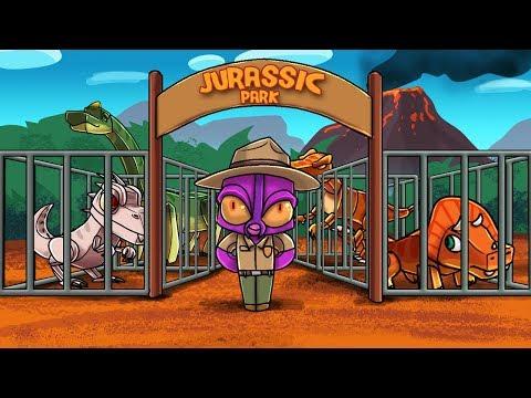 Crazy Minecraft - JURASSIC PARK JAIL CELL! (Dinosaur Prison) thumbnail
