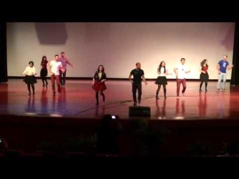 Persian group dance (dayananda saghar bangalore )