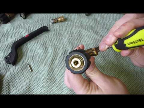 Jet Wash Trigger Gun,  Fixing Leaks and Maintenance
