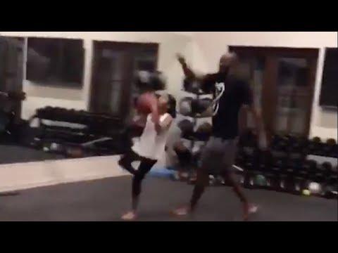 """Kobe Bryant Trains Daughter """"Mambacita"""" for the WNBA"""