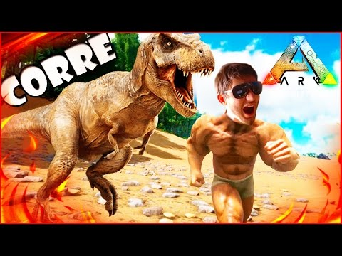 ARK Survival Evolved, Как приручить динозавра Тираннозавр Рекс T REX #5 1080p 60fps