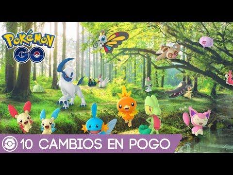 10 NUEVOS CAMBIOS EN POKÉMON GO! - GENERACIÓN 3 - La Pokeguía