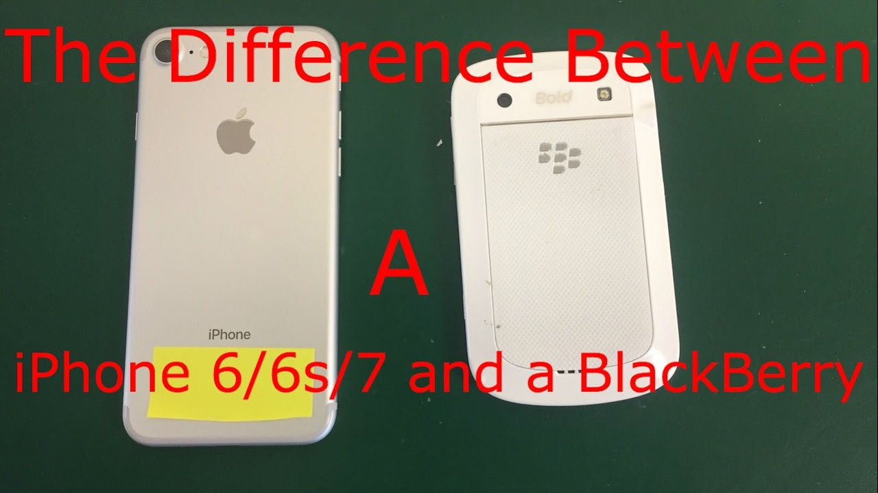 what is the difference between iphone 5 and 5c the difference between an iphone 6 6s 7 and a blackberry 21455