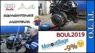 ⭐Remontage  moteur AUDI A4 2.0 TDi  140cv⭐ (partie 3)
