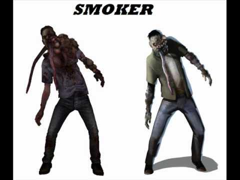 L4D2: Bacteria + All Smoker sounds