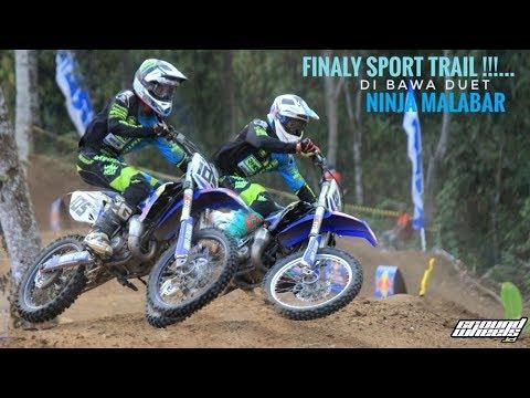 Ninja Malabar Jaya Di Moto 2 Sport Trail - Final Powertrack Bali 2018