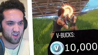 YOU GET 1000 FREE VBUCKS IF I GET A KILL | Fortnite Battle Royale