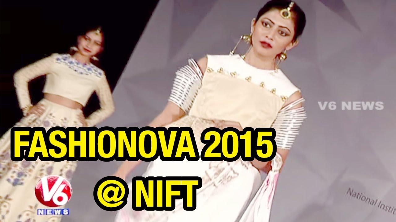 Nift Fashionova 2015 Designer Fashion Show At Madhapur Hyderabad 24 05 2015 Youtube