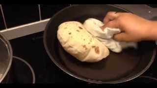 Chapati on Hot Plate stove/induction plate Part 2