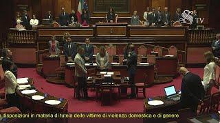 Morte Camilleri, un minuto di silenzio nell'Aula del Senato