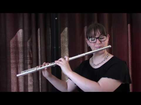 Felix Mendelssohn's Wedding March Flute Solo (Wedding Demo)