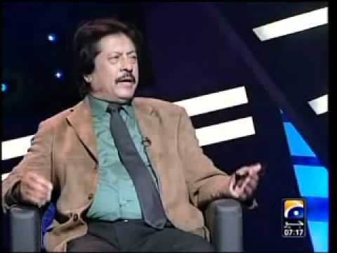 Attaullah in umer sharif show .1