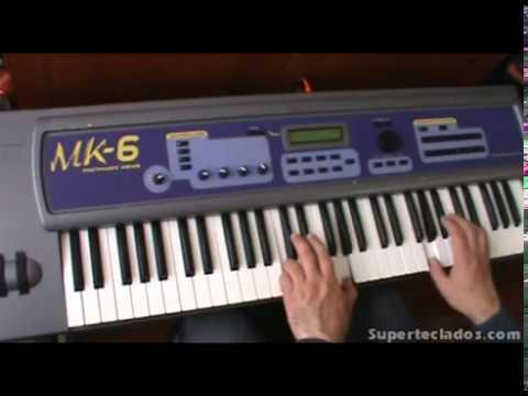 E-mu MK6 Mo`Phatt Keys Superteclados.com