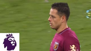 Chicharito equalizes with apparent handball against Fulham | Premier League | NBC Sports