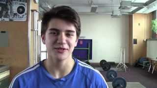 Mit leerem Kopf zur Bestleistung - Gewichtheber Alexander