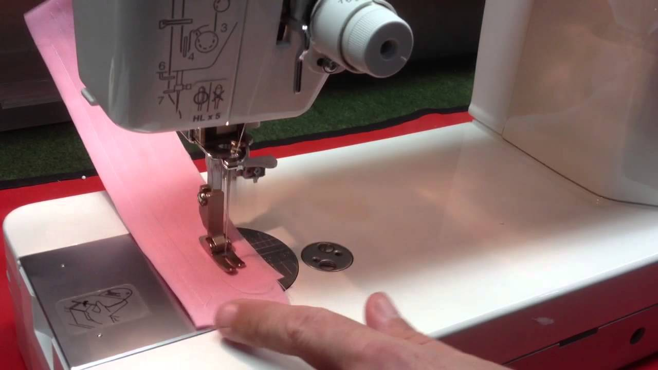 Janome 1600p qc sewing machine - YouTube