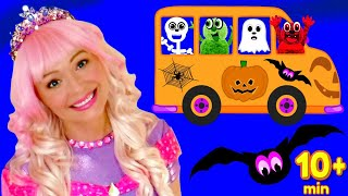 Wheels on the Bus Halloween Song | And More Nursery Rhymes and Kids Songs for Toddlers and Children