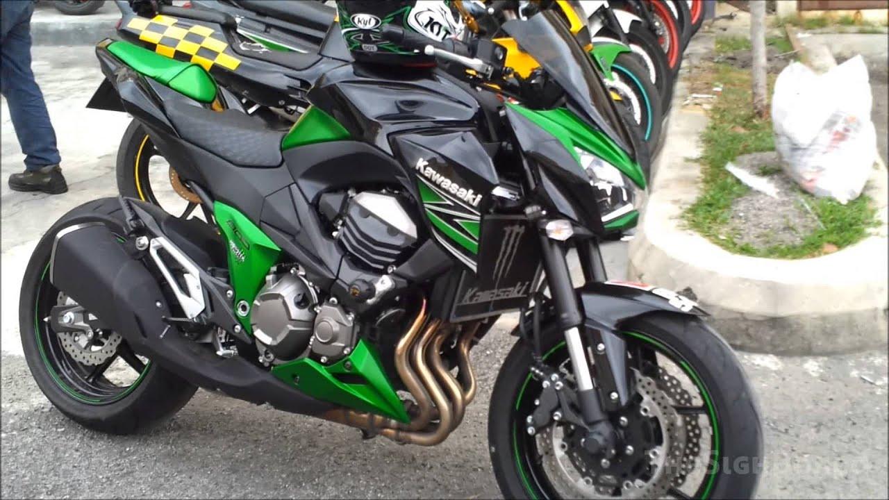 Kawasaki Z800 Integrated Tail Light