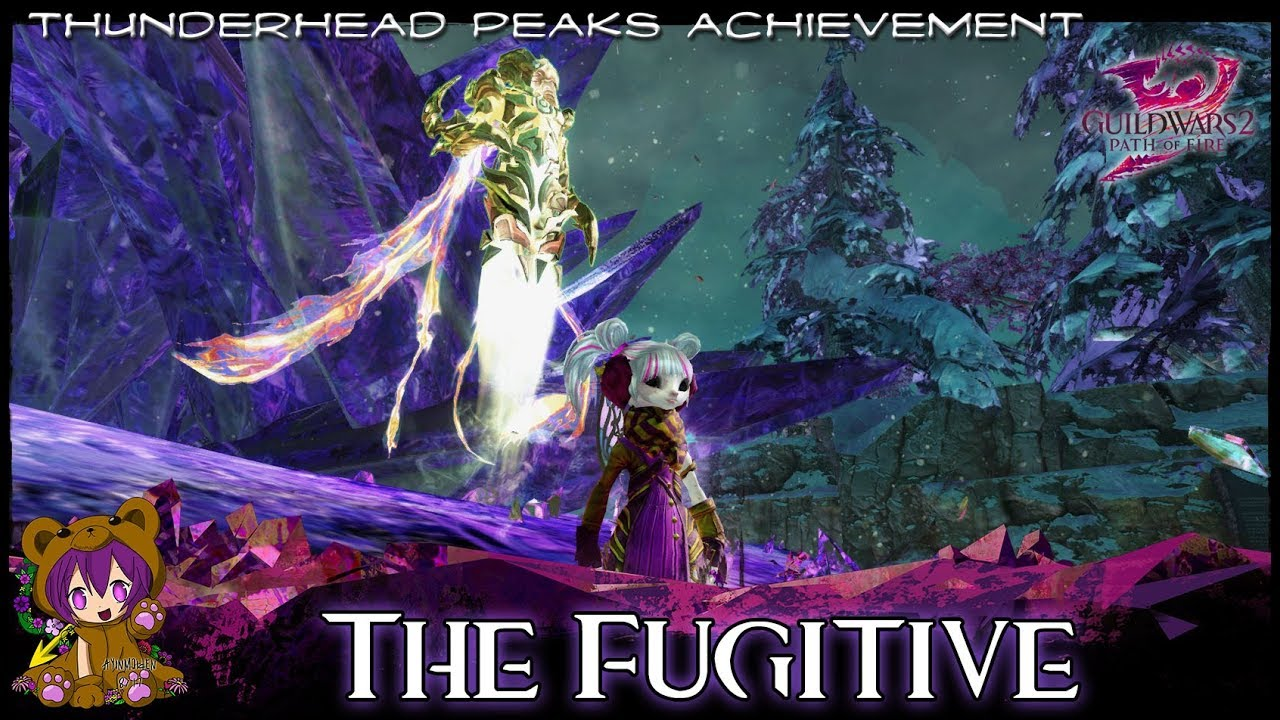 GW2 - The Fugitive achievement