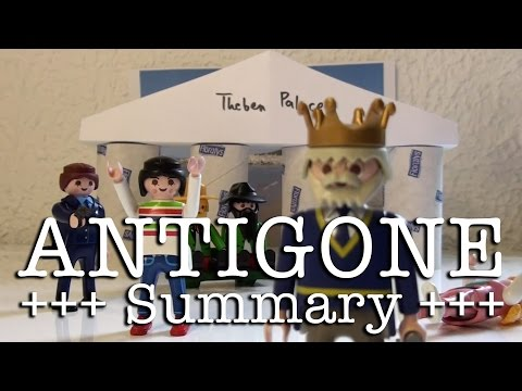 Antigone to go (Sophocles in 11 minutes, English version)