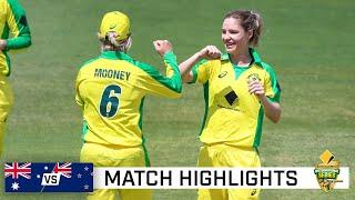 Australia extend winning streak in style | CommBank ODI series vs New Zealand