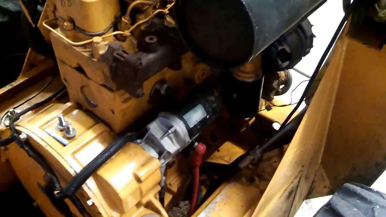 24 Volt Wiring Diagram 1998 Nissan Patrol Stereo 1840 Case Cab Removed - Youtube