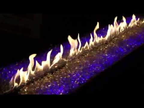 Stellar Hearth Products - Custom Fireplace with Electric Embers ...
