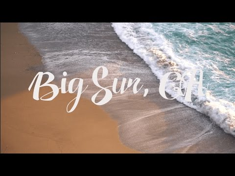 Big Sur | A Minute Travel Film | Sony a6300