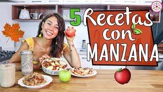 5 RECETAS CON MANZANA PARA EL OTOÑO! ????????Rawvana