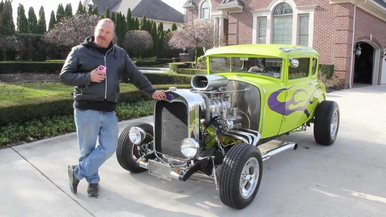 1930 Ford Model A Hot Rod Classic Muscle Car for Sale in MI Vanguard ...