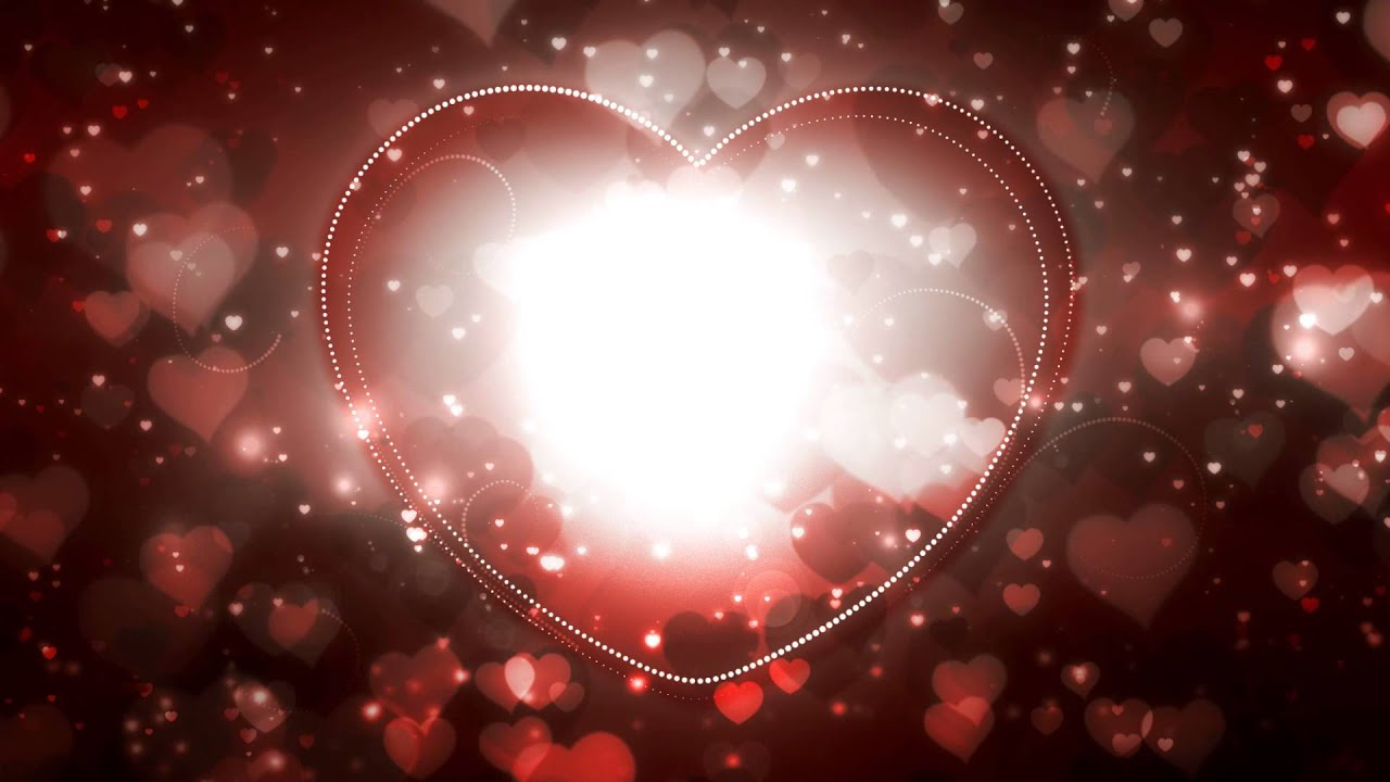 Animation Wallpaper Full Download Fondo Video Background Full Hd Sparkle Hearts Youtube
