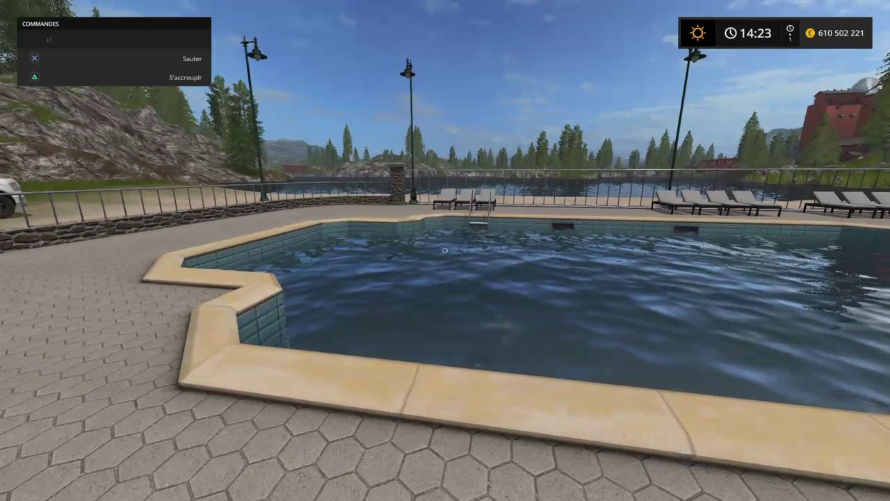 Une piscine sur fs 17 youtube for Piscine youtube