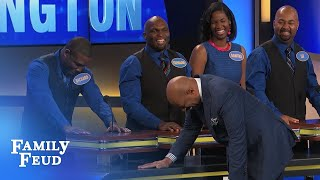 Hypnotize the BOSS and ask for this? | Family Feud
