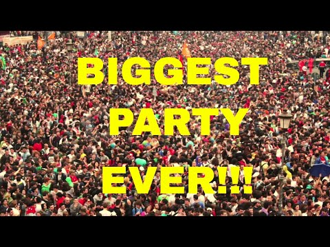 WE ARE THROWING A PARTY FOR 8000 PEOPLE!!!