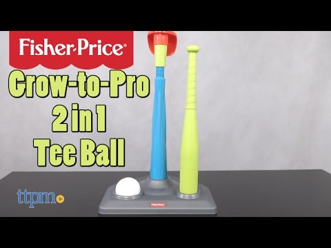 Grow To Pro 2-in-1 Tee Ball From Fisher-Price
