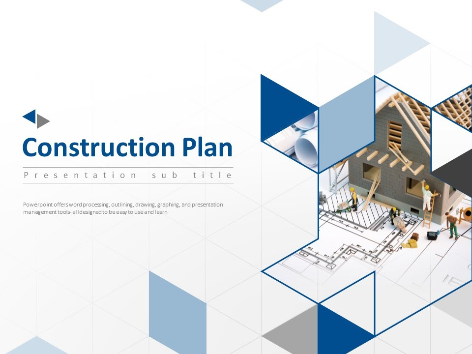 House Construction Animated Ppt